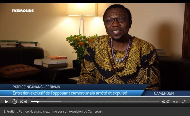 Entretien : Patrice Nganang